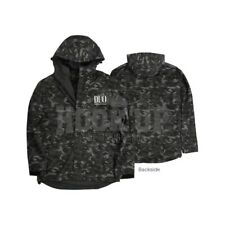 Duo Windbreaker Jacket Grey Camo