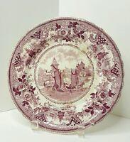 Antique Transferware Plate GONDOLA circa 1840
