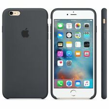 Genuine Original Silicon Ultra-thin Cover Case Apple iPhone 6 , 6s Charcoal Gray
