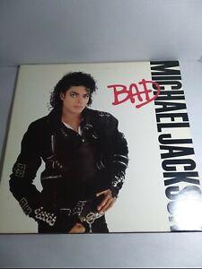 "Michael Jackson BAD LP 12"" Vinyl Record 1987 E 40600 Used Mint Vinyl"