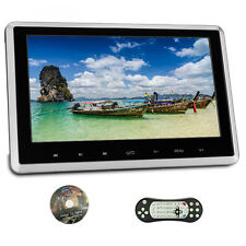 """HDMI Auto Poggiatesta 1024*600 Ultra-thin Monitor 10.1"""" TFT DVD Player USB Mp4"""