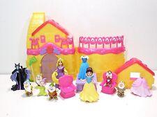 Disney Princess Polly Pocket Snow White Cottage House Playset Magiclip Doll