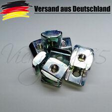 10x Nutensteine Nut 6  Profile mit Steg, Schrauben M4, NEU 3D Drucker CNC V6