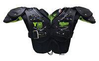 Schutt Sports Y-Flex 4.0 All Purpose Shoulder Pad, Black/Neon Green