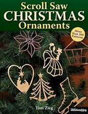 Scroll Saw Christmas Ornaments: Over 200 Patterns Paperback – September 1, 2000