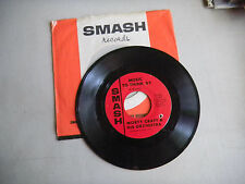 MORTY CRAFT a man and a woman / music to think by SMASH COMPANY SLEEVE    45