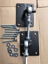 Adjustable Iron Gate Hinges Bolt And Nuts  Size 10