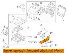 KIA OEM 11-15 Sorento Driver Seat-Outer Cover Left 881721U010VA