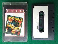WHO DARES 2 gioco/game x COMMODORE 64 C64 - Anni '80