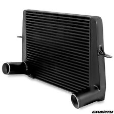 BLACK ALUMINIUM FRONT MOUNT INTERCOOLER FMIC FOR FORD ESCORT SIERRA RS COSWORTH