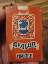 Vintage Avalon Pinochle Cards Complete Free Domestic Shipping