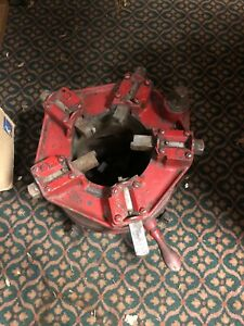 """Toledo 25-BR Pipe Threader. 2 1/2"""" - 6"""". Works. With Dies. Local Pu Only. 12586"""
