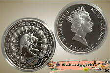 2000 Sydney Olympic $5 Silver Proof Coin 'Kangaroo' in Capsule only
