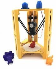 UK Seller! 101Hero Pylon 3D Printer (Yellow) - True 3D movement & High Precision