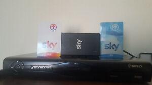 DECODER HD 320 GB FUNZIONANTE OTTIMO VISIONE TUTTE LE SCHEDE SKY E SKY Q