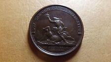 1667 Rare Original Bronze 1690 France Louis XIV, Battle of Staffarde  MAUGER