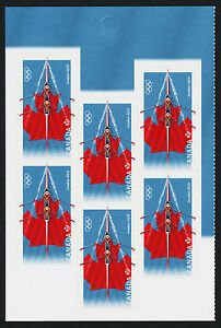 Canada 2556 Left Booklet pane MNH Summer Olympic Games, Rowing