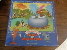 The Adventures of Rocky and Bullwinkle 550 Piece Jigsaw Puzzle Ceaco