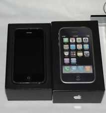 Apple iphone 3G 8GB AT&T Black Boxed Nice Collector Piece