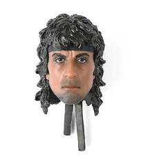 1/6 Scale Head Sculpt From Hot Toys The First Blood John J. Rambo 3 III Figure