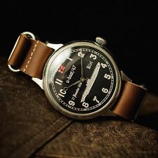 Vintage ww2 Mens watches u-boat/47 antique military style WWW, cruiser aircraft