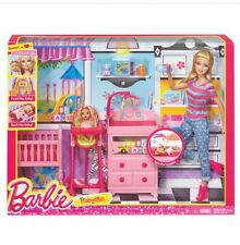 New Barbie I Can Be Careers Baby Sitter Play Set Nib Very Rare