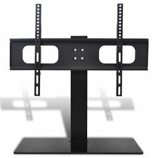 "vidaXL TV Bracket with base 600x400mm 32""-70"" Mount LCD LED PLASMA Glass Stand"