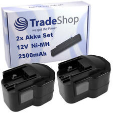 2x Batterie 12v 2500mah remplace Atlas Copco AEG Milwaukee