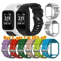 Strap Watch Band Silicone For TomTom Runner 2 3 Spark 3 Adventurer GPS