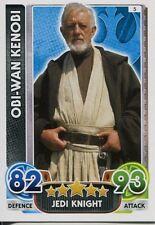 Star Wars Force Attax : Force Awakens Set 1 #5 Obi-Wan Kenobi