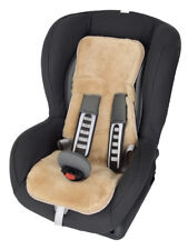 Babyfell für Babysitz-Kindersitz-Maxi-Cosi-Römer-Lammfell-75x28-Farbe Sekt