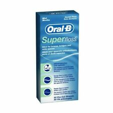 4 Oral B superfloss