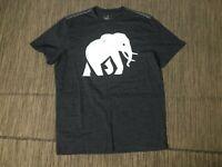 Banana Republic Adult Mens Large Elephant Tee T Shirt Short Sleeve Gray
