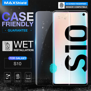 Galaxy S10 Plus 5G S8/S9 Plus Note 9 10 Pro Screen Protector Aqua Crystal Film