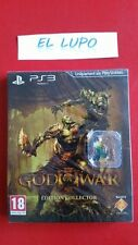GOD OF WAR III 3 EDITION COLLECTOR PS3 SONY NEUF SOUS BLISTER VERSION FRANCAISE