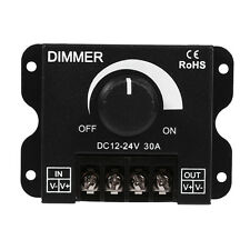 DC 12V-24V 30A LED Tira Luz Regulador Intensidad Controlador Interruptor Dimmer