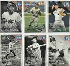2019 Topps 150 Years of Professional Baseball -You Pick/Choose- 1-150