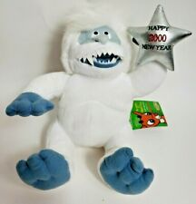 """1999 Stuffins 8"""" Cvs Abominable Snowman Happy New Year 2000 Plush Animal w tags"""