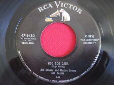 COUNTRY 45 - JIM EDWARD - GOO GOO DADA / I TAKE THE CHANCE - RCA 47-6480 VG+