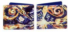 Doctor Who Bi-Fold Van Gogh Exploding Tardis Wallet Underground 012002