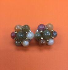 Vintage Multi Color Beads Earrings