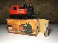 Matchbox Lesney in OVP Nr.43 Alte Spielzeug Lok Stream Loco / Dampf Eisenbahn