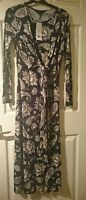 new with tags French connection sundown jersey maxi dress nocturnal multi size 8