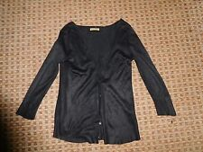 TU-LADIES JUMPER CARDIGAN SWEATER TOP SIZE 8 CHRISTMAS SMART WORK EVERYDAY BLACK