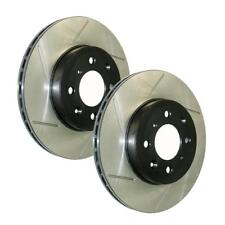 StopTech (126.33137SL-R) Power Slot 12-13 Audi A6 Quattro Rear L-R Slotted Rotor