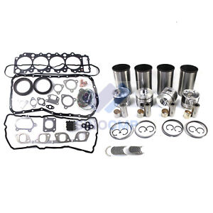 Isuzu 4HK1 4HK1T Engine Rebuild Kit For Chevrolet NPR NQR NRR GMC 5.2L Diesel