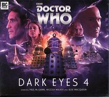 Doctor Who Dark Eyes series 4 Audio CD Complete Set MINT Paul McGann Big Finish