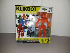 Stickbot Klikbot Animation Action Figure Monster New Line - Canon - New in Box