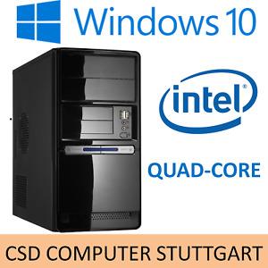 SILENT OFFICE KOMPLETT-PC: INTEL QUADCORE Q1900 - 8GB - SSD - Windows 10