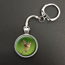 Kingfisher Bird Pendant On Snake Keyring Ideal Birthday Gift N42